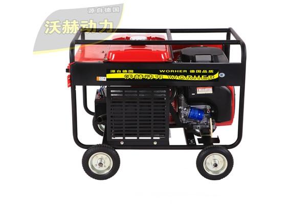 300a电焊氩弧焊两用焊机弧焊功能强大的柴油发电电焊机,并优先检测